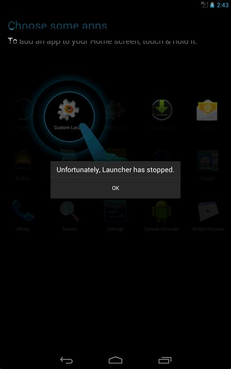 android crash android nexus7 emulator crashing after creating it stack overflow