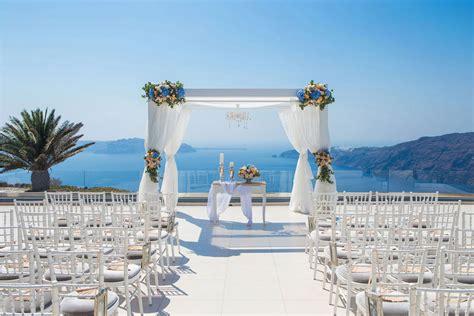 On The Wedding by Le Ciel Santorini Wedding Venue Santorini Wedding Venues