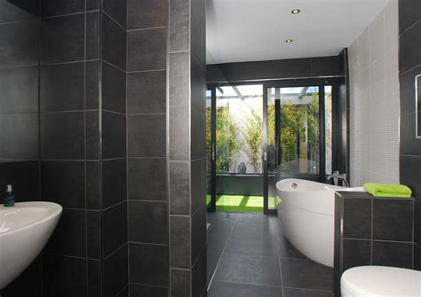 dark grey tiled bathroom bathroom decorating 25 grey wall tiles for bathroom ideas and pictures