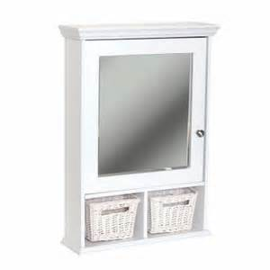 Zenith Vanity Mirror Glacier Bay 21 In X 29 In Wood Surface Mount Medicine