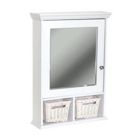 home depot bathroom mirror cabinet glacier bay 21 in x 29 in wood surface mount medicine