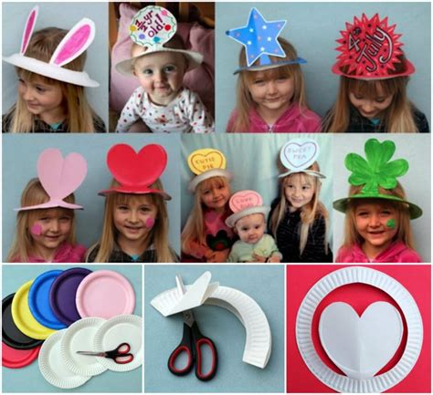 Paper Hats For Preschoolers - 17 best ideas about hat crafts on january