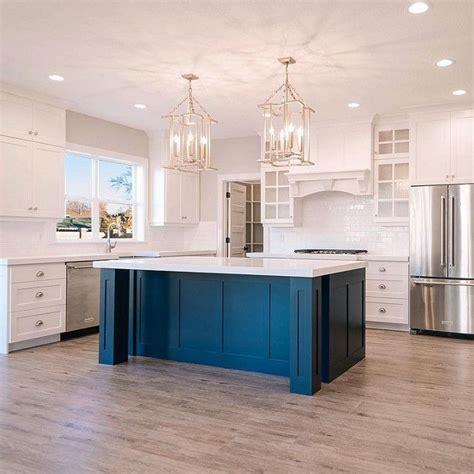 blue kitchen islands best 25 blue kitchen island ideas on pinterest blue