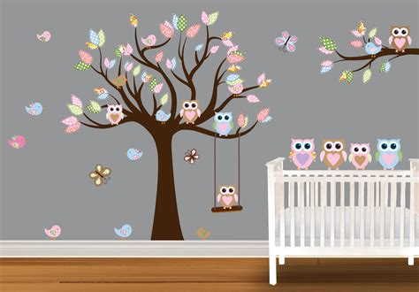 owl theme baby girl owl nursery
