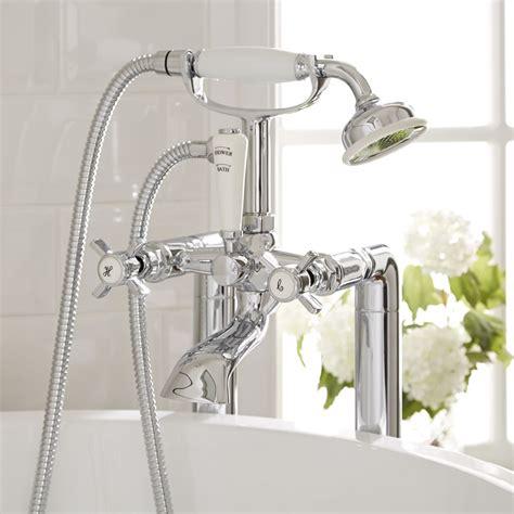 traditional bath shower mixer freestanding traditional crosshead bath shower mixer kit