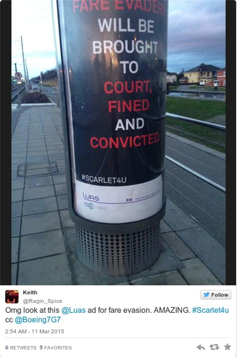 Fare Evasion Criminal Record Everyone Is Mortified By The Hashtag On The Luas Fare Evasion Caign