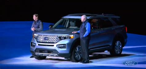 Ford No 2020 by 2020 Ford Explorer Debuts With Rear Wheel Drive Platform