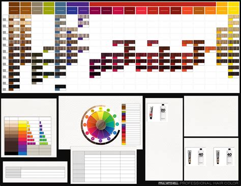 paul mitchell the color chart pm color chart hair salon colour chart