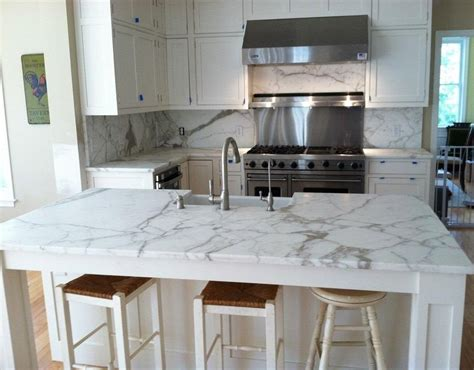 Kitchen Island Countertop Calacatta Silk Marble Bathroom Interior Decoration Photos