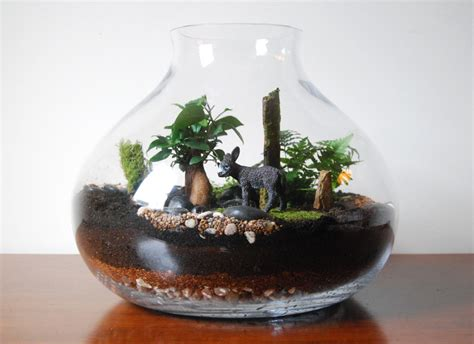 Sheepsnowmanduckowlrabbitdogdeer Home Decoration Terrarium 15 home decor with wonderful terrarium
