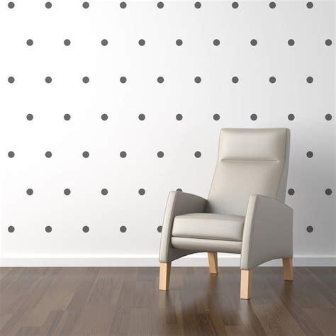 polka dot wall sticker mini polka dots wall sticker set by statements