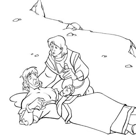 Coloring Page Samaritan by 46 Best Images About Bible Story Samaritan On