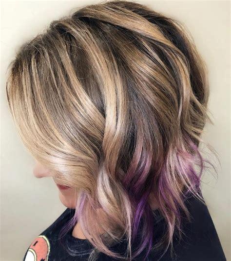 peek a boo hair color 10 unique peek a boo hair color ideas