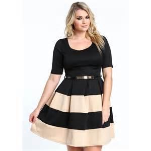 robe grande taille aux plaisirs des rondes