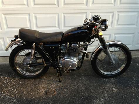 1973 honda cl350 cb350 cafe racer excellent for sale on 2040 motos