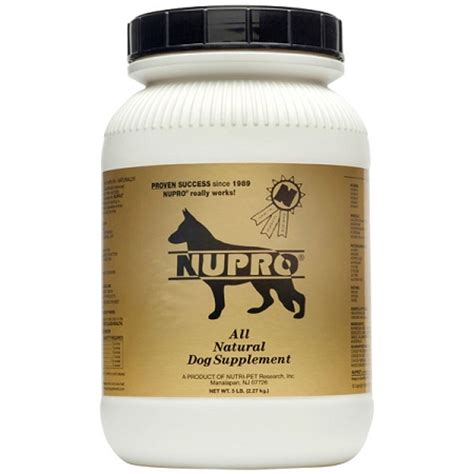 nupro supplement nupro all supplement vitamin supplements vitamins arthritis dogs