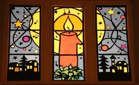 Fensterdeko Weihnachten Seidenpapier by 10 Best Images About Adventsfenster Auf
