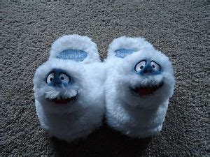 bumble the abominable snowman slippers 77 best images about abominable snowman on