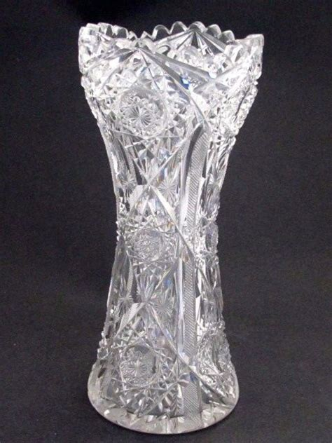 American Brilliant Cut Glass Vase by 1000 Images About American Brilliant Cut Glass On