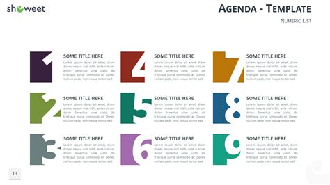 Table Of Content Templates For Powerpoint And Keynote Listing Presentation Template Free