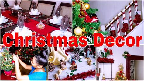 holiday home decor how we decorate our house for