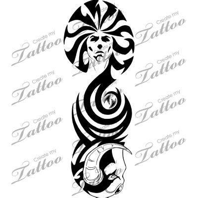 demonic tribal tattoos marketplace tribal and 4014