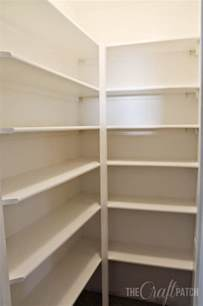 kitchen closet shelving ideas the craft patch how to build pantry shelves