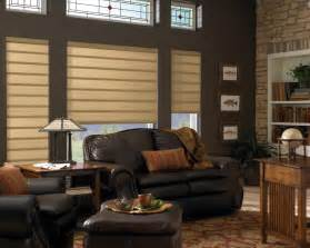 Modern Window Treatments by Hunter Douglas Vignette Modern Roman Fabric Shades
