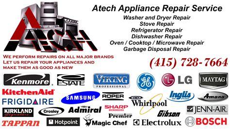 Hair Dryer Repair San Francisco atech appliance technician repair service in san