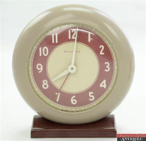 lot 3 waterbury superior jr us time corporation windup alarm clock parts repair