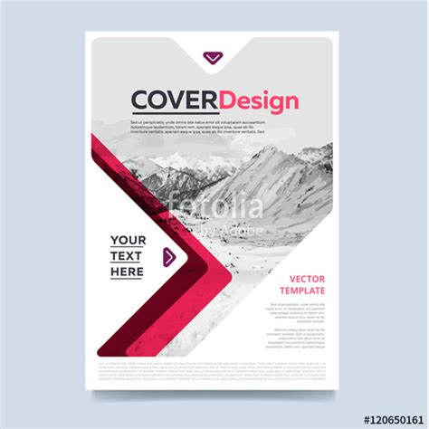cover design of annual report quot brochure layout design vector illustration cover design