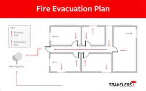fire evacuation plan how to create a fire evacuation plan travelers insurance