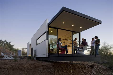 tiny modern home prefab desert homes modern sustainable prefab home