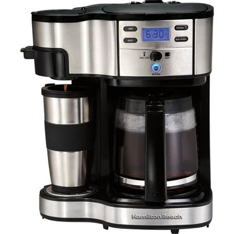Special Promo Offers: Big Sale Hamilton Beach 49980Z The Scoop Two Way Brewer Comparing Price List
