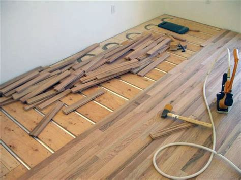 Heated Floor Installation by 74 Best Images About Hardwood Floors And Radiant Heating