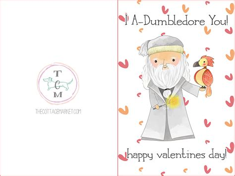 hp valentines card template free printable harry potter s day cards the