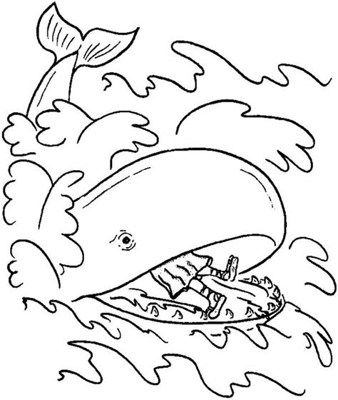 Jonah Coloring Pages And Activities Coloring Pages Jonah And The Big Fish Coloring Page