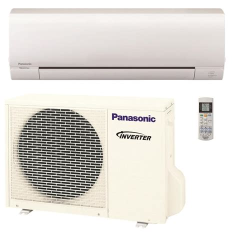 ductless mini split air conditioner panasonic 9 000 btu 3 4 ton pro series ductless mini split