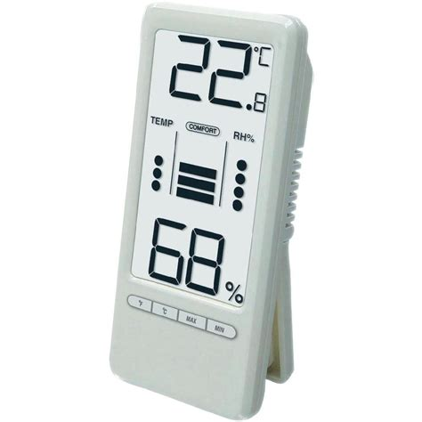 Thermo Hygro Digital conrad ws 9119 digital thermo hygrometer with comfort index from conrad