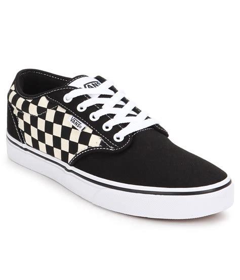 vans atwood black canvas casual shoes price in india buy