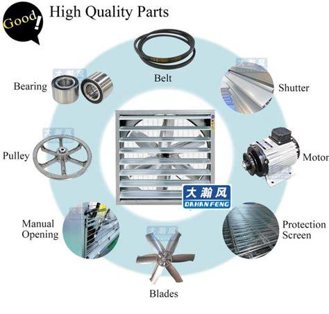 Dhf Belt Type 350mm Exhaust Fan Blower Fan Ventilation
