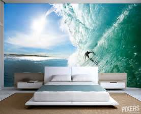 Surfing Wall Murals Beach And Surf Wall Murals Interior Design Ideas