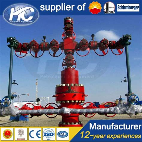 cuatom made oil drilling equipment x mas tree surface