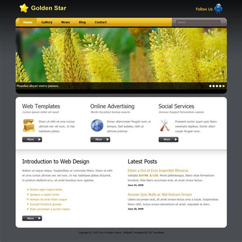 javascript golden layout template 305 golden star