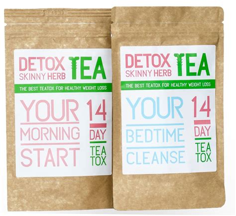 Herbal Detox Cleanse Weight Loss by 28 Day Teatox Detox Herb Tea
