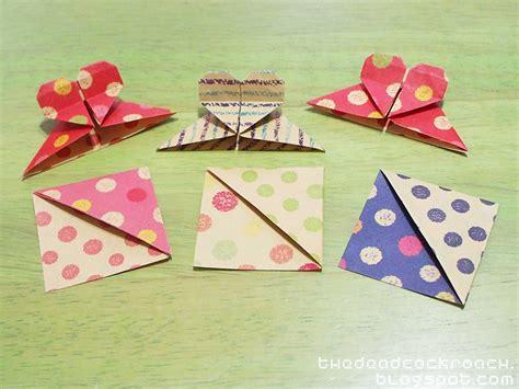Origami Corner Bookmarks - diy corner bookmarks and origami shape corner