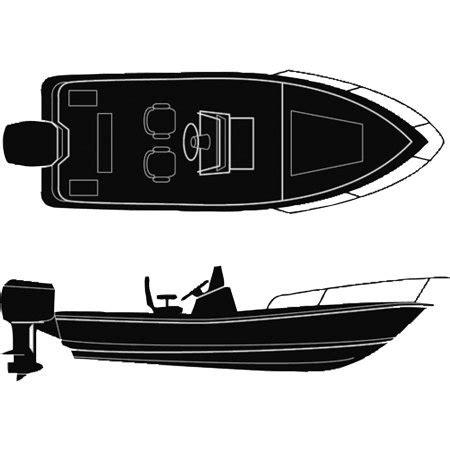 18 foot center console boat cover seachoice semi custom boat cover for v hull center console