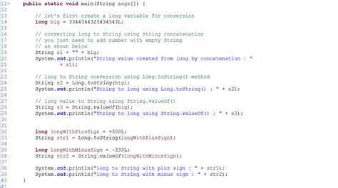 java pattern not contains string how to convert long to string in java exle java67