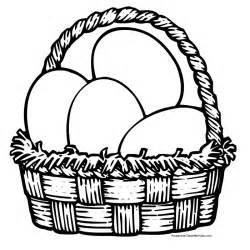easter basket coloring pages early play templates easter basket templates to colour