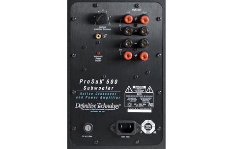 definitive technology procinema 600 home theater system